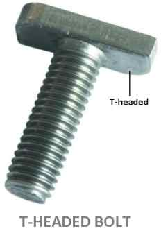 T-headed bolt