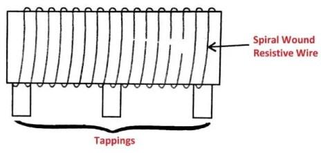 Variable Resistors - Elevate | Elevate |Tapped Resistor Symbol