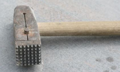 Types of Hammers - Bushing Hammer