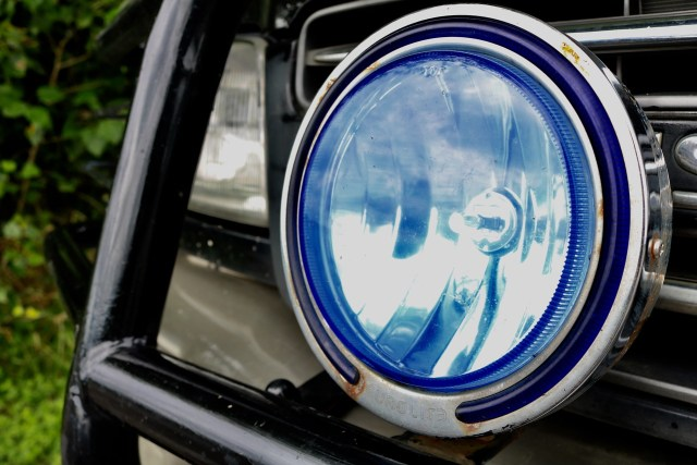 types of car headlights: Driving lamp: