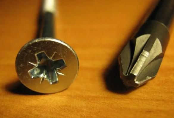 Pozidriv screwdriver