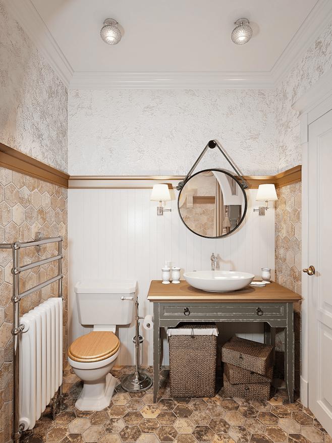 5 country bathroom ideas to transform your washroom - The ... on Rural Bathroom  id=57792