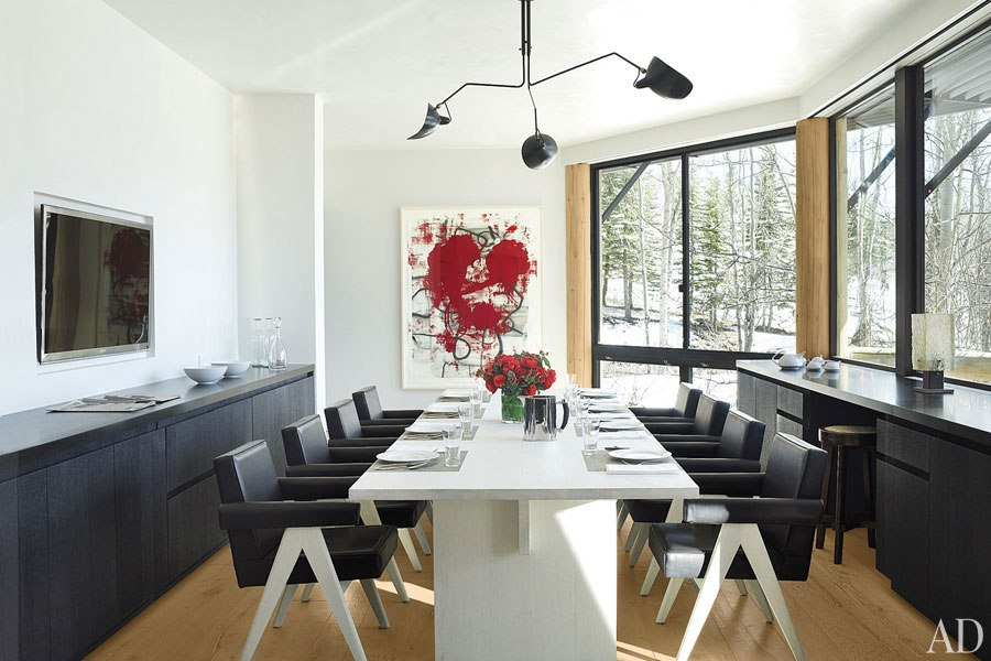 Out West Week  An Aspen Ski Home by Atelier AM   The English Room All images via Architectural Digest