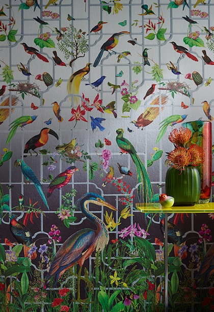 We have a collection of over 25,000 wallpaper designs. Wallpaper Wednesday With Sahco The English Room