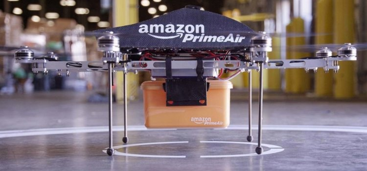 Amazon Patent Reveals Its Drone-Deploying Flying Warehouse Plan
