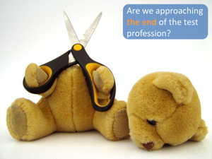 MDD, the end of the test profession?