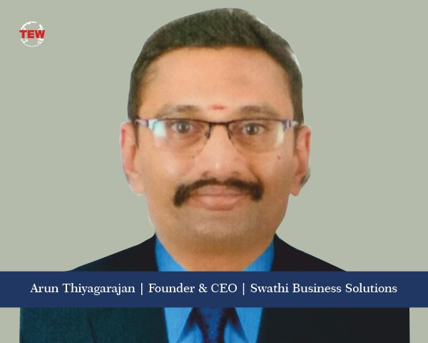 Arun Thiyagarajan- Swathi Business Solutions- Facilitating Businesses to Efficient Systems