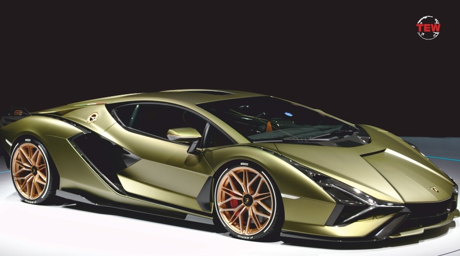 'The Sian' Lamborghini launches its first hybrid supercar