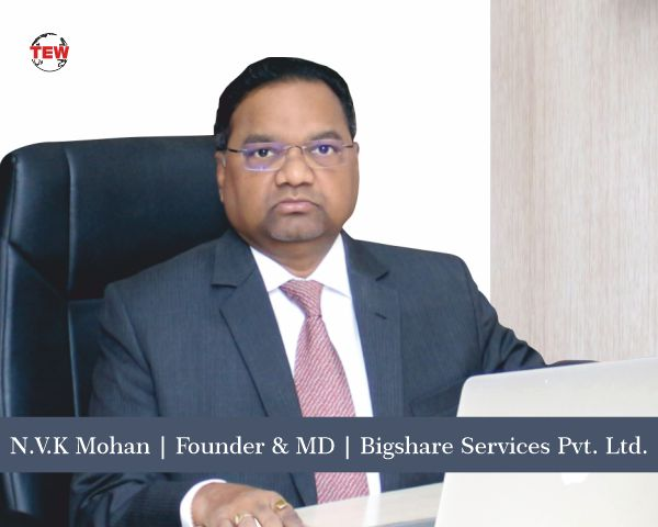 N.V.K Mohan – A committed service specialist in Capital Market