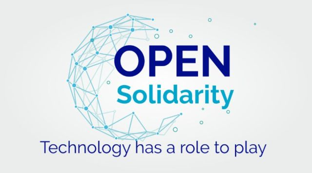 Open Solidarity Initiative Logo and tagline