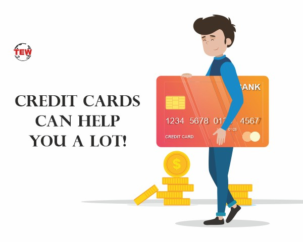 credit cards can help you alot