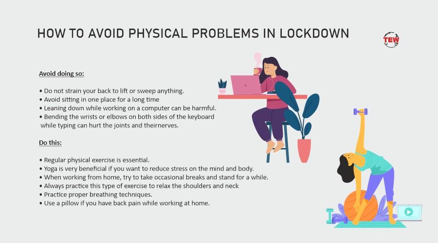 How to maintain physical health during Lockdown