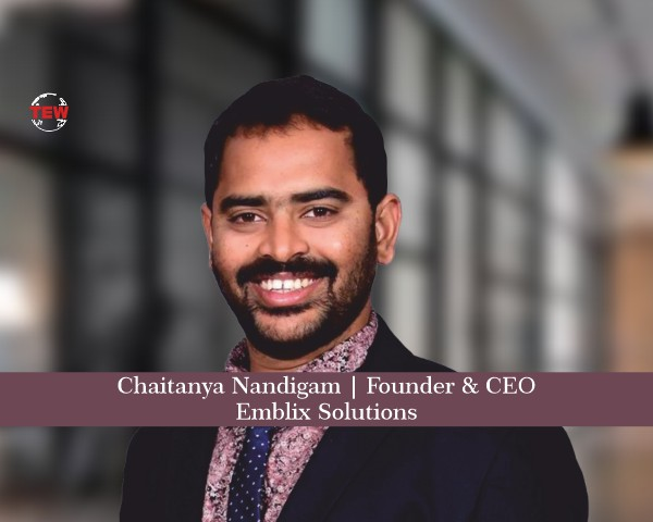 Chaitanya Nandigam Founder & CEO