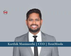 Karthik Manimozhi CEO RentMoola
