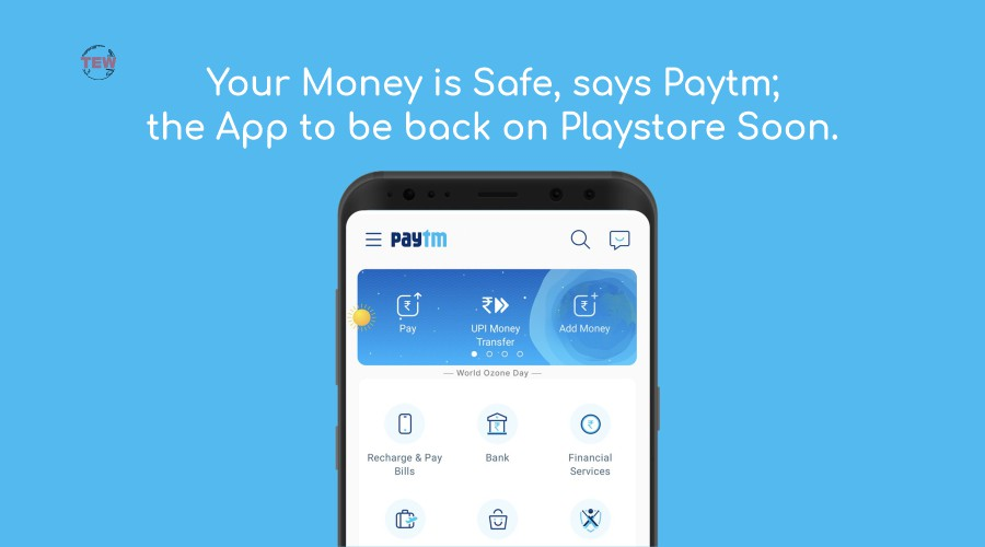 Paytm back on Play store soon