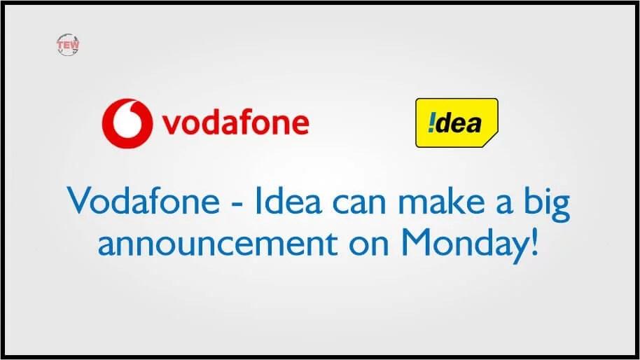 vodafone idea strategic announcement on Monday