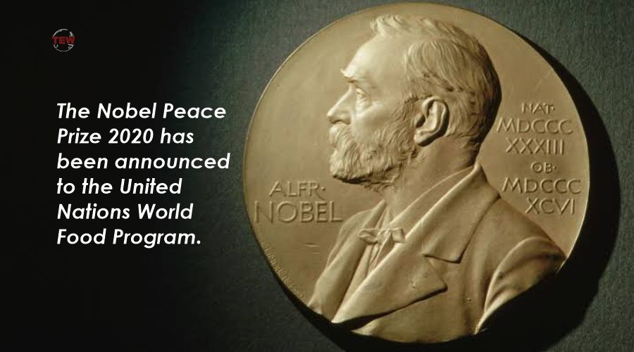The Nobel Peace Prize 2020 has been announced to the United Nations World Food Program.