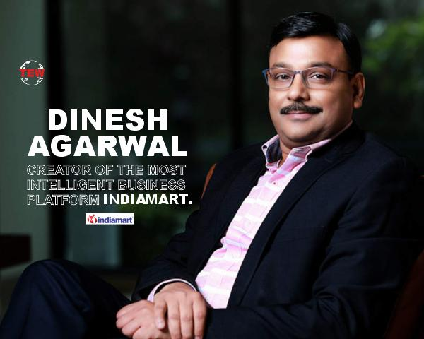 Dinesh Agarwal, Founder and CEO, IndiaMart