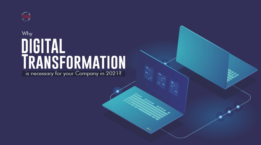 Why Digital Transformation is necessary for your Company in 2021