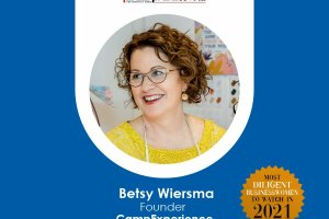 """""""Everyone has a Purpose and Ideas to Make the World a Better Place,"""" says Betsy Wiersma."""
