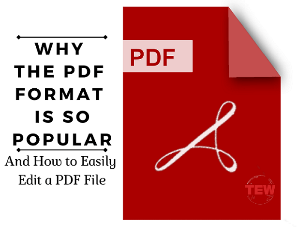 Why the PDF Format is So Popular (and How to Edit PDF File)