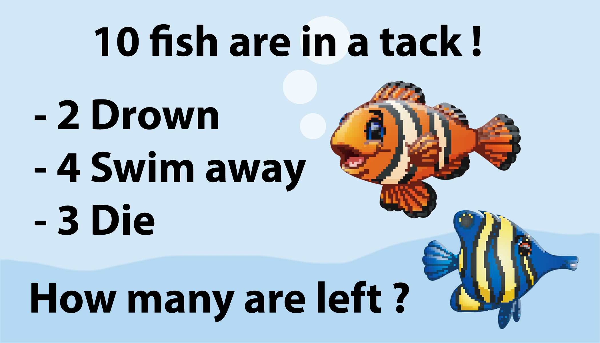 Fish Math Riddle Is Driving People Crazy Can You Solve It