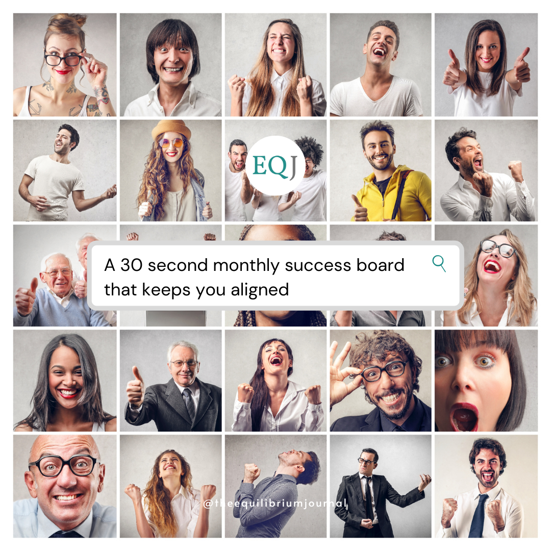 Read more about the article A 30 Second Success Board That Keeps You Aligned
