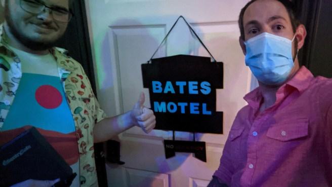 Jason was able to escape the Bates Motel!