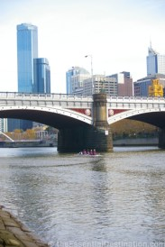 Melbourne across the Yarra river