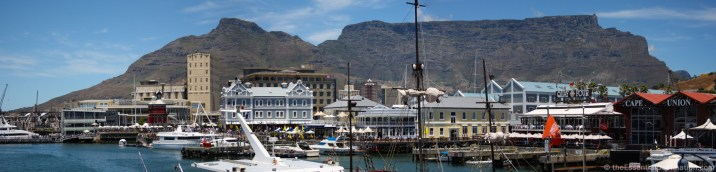 Table Top Mountain from V& A Waterfront