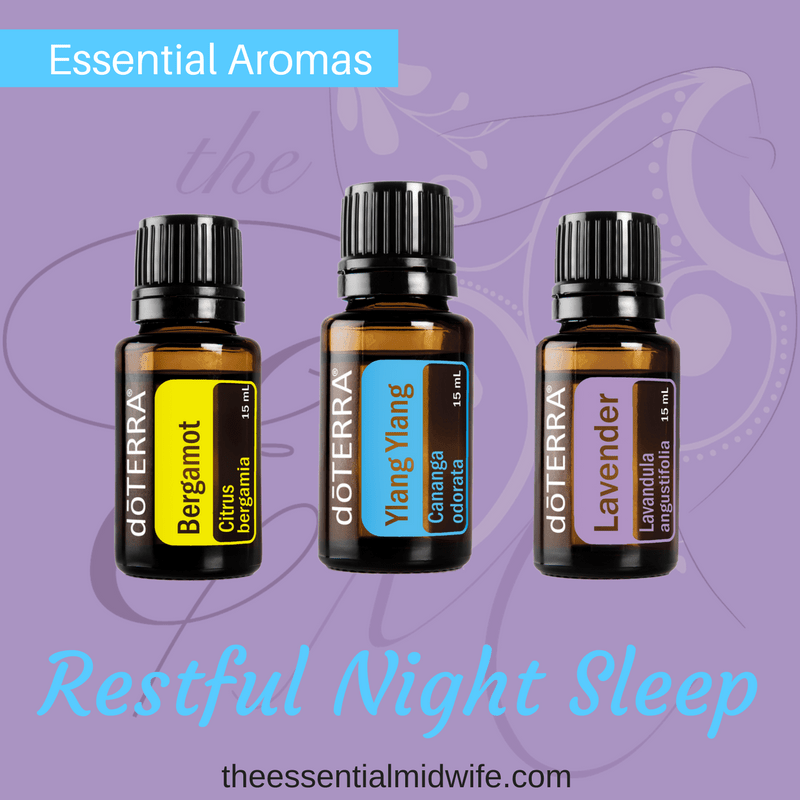 Diffuse Essential Oils For A Restful Night Sleep