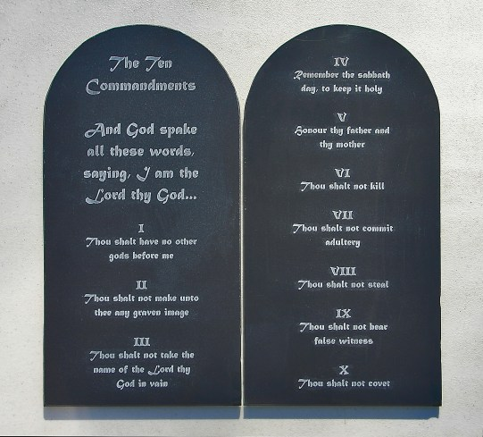 Etched Stone Tablets