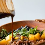 Vinaigrette 101 | The Eternal Hostess | One Simple Ratio will create an item that has infinite uses in the kitchen. Beyond just dressing a salad, a vinaigrette can be used over grilled veggies or drizzled on pizza.