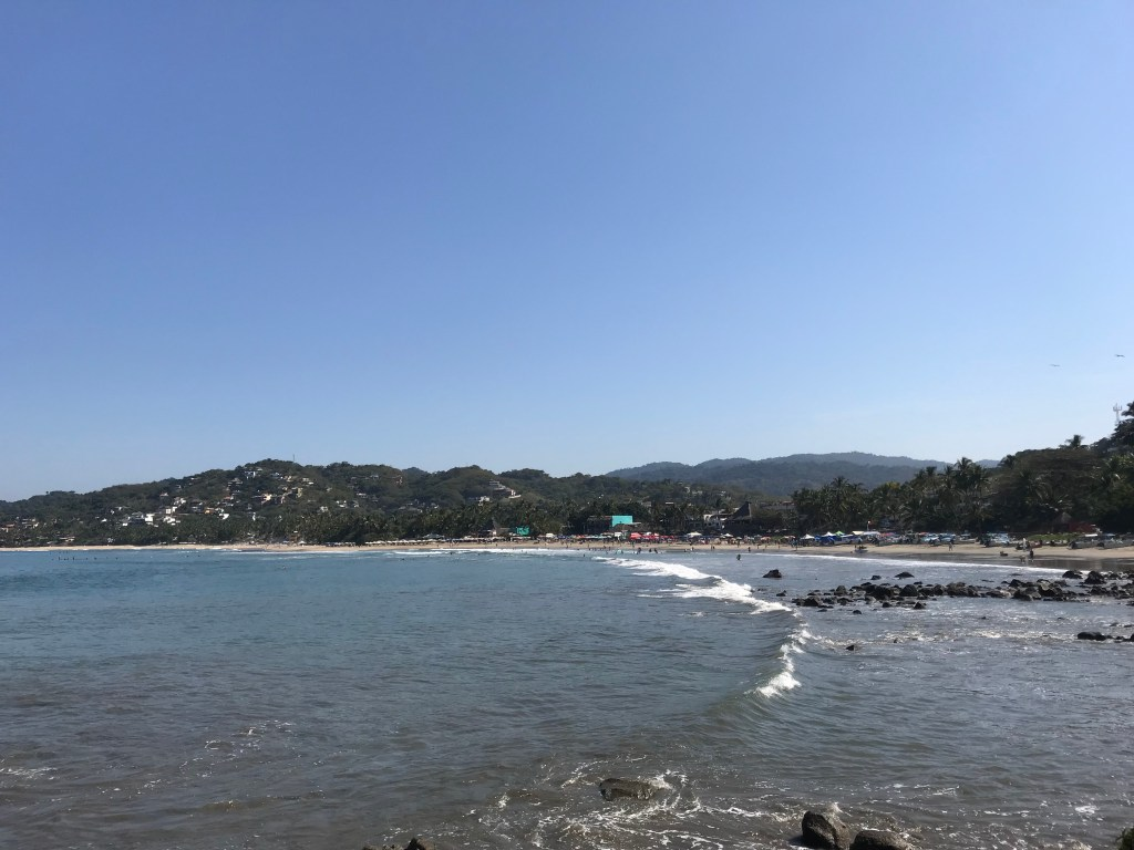 Beaches in Sayulita, Mexico