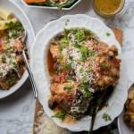 Full Menu   Chicken Cacciatore + Roasted Carrot and Farro Salad