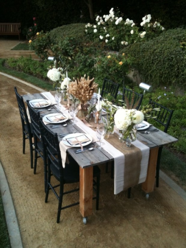 Stylish Soiree Tablescape