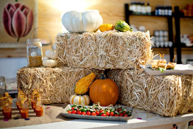 Fall Party Tablescape Decor