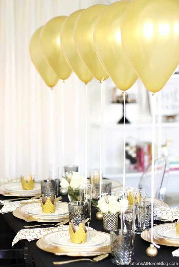 Celebrations at Home Tablescape