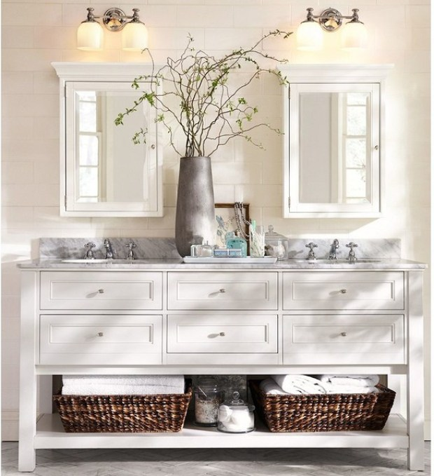 Guest Bathroom - The Everyday Hostess
