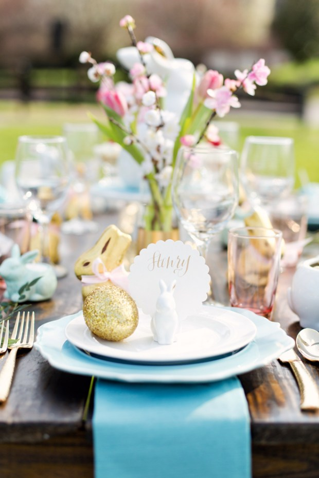 Easter Tablescape pizzaz