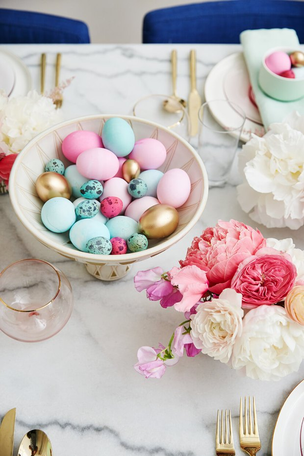 Emily Henderson Easter Table