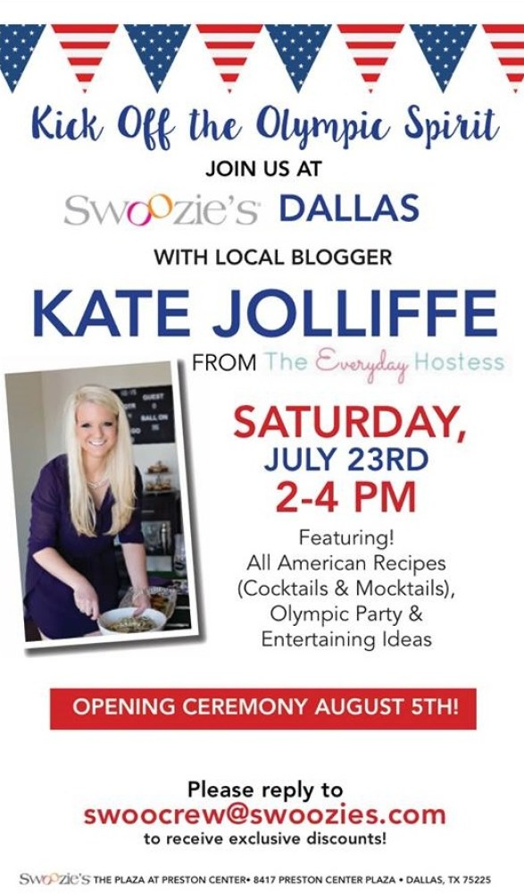 The Everyday Hostess at Swoozies Dallas