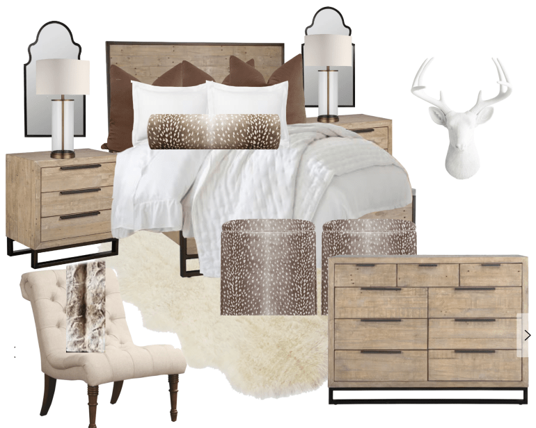 Chic Texas Styled Bedroom