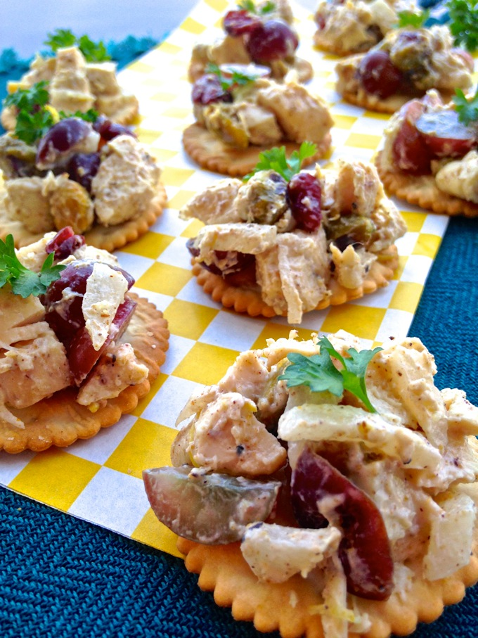 Moroccan-Inspired Chicken Salad