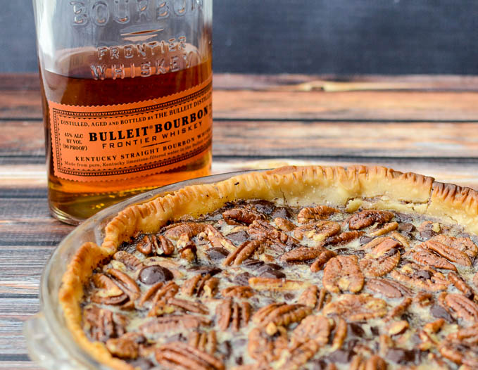The BEST pie is Dark Chocolate Bourbon Pecan Pie | www.mybottomlessboyfriend.com