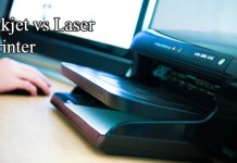 inkjet vs laser printer