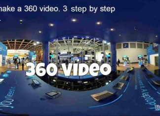 How to make a 360 video