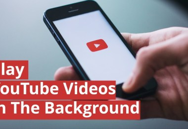 play youtube in background