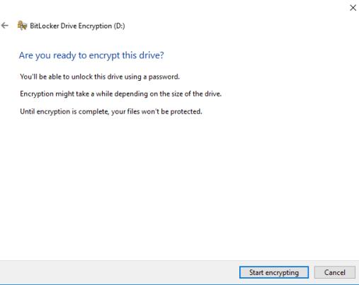 windows full disk encryption