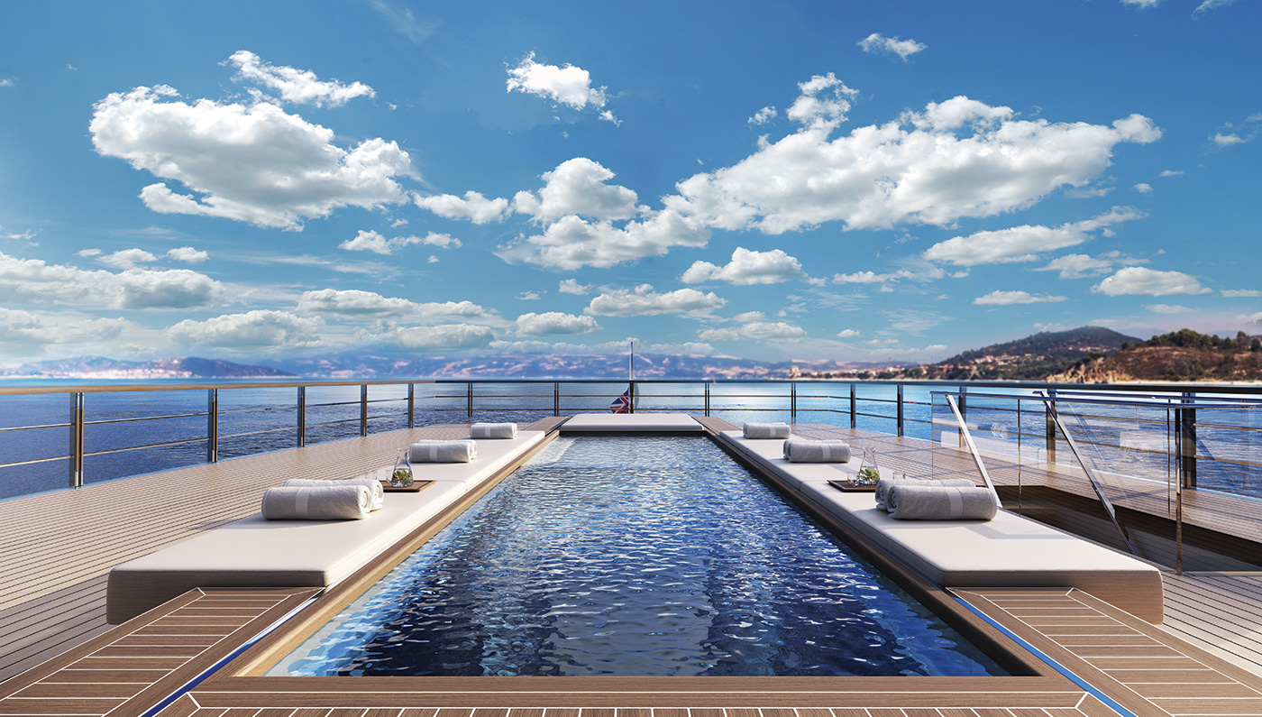 The Incredible Two Deck Zen Superyacht The Extravagant